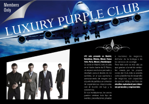 Luxury Purple Club
